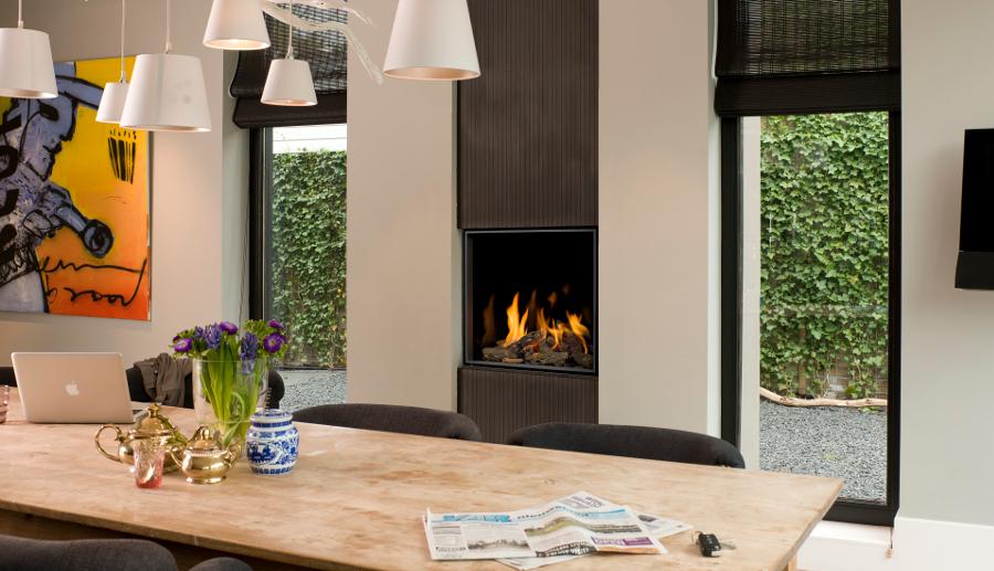 Bellfires gaskachel voor gezelligheid in de woonkamer