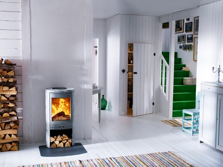Contura houtkachel als aanvulling op uw interieur